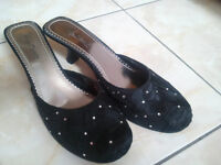 chaussures noires taille 10