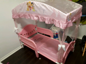 canopy princess bed
