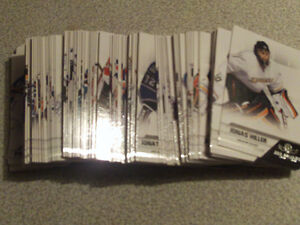 SERIE DE 105 CARTES DE HOCKEY PANINI ALL GOALIES 2010-11