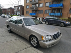 Price Reduced To Sell S420 Mercedes W140