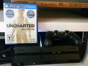 Ps4 500gb uncharted collection une manette