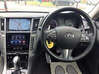 2014 Infiniti Q50 3.5 Hybrid S AWD 4dr PETROL/ELECTRIC black Automatic