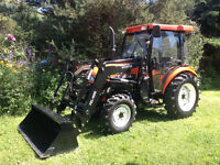 New DF404G2 40 HP Tractor with cab and loader