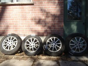 Continental 225/60R17 all season tires & Buick alloy rims(5x115)