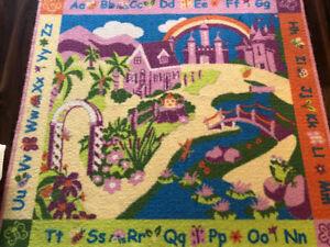 Girls area rug