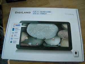10.1 inch [Digiland] Quad core tabletwith c/s=Androd-refurbished