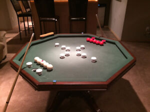 Bumper Pool/Poker Table/Dining Table