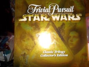 Star Wars Trivial Pursuit, Classic Trilogy, excellent condition