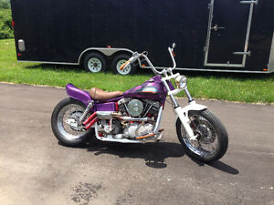 "1967 Harley FLH "" Three Nails Done """