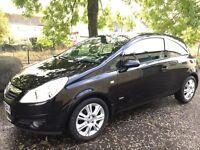08 Reg Vauxhall Corsa 1.2 DESIGN (1 OWNER FROM NEW)not fiesta clio punto focus astra 207 ka kia