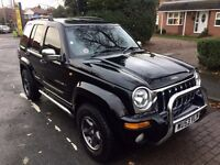 Jeep Cherokee 2.7 AUTOMATIC CRD LIMTED 2004 not shogun Land Rover discovery trooper defender Range