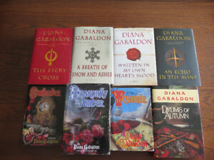 Outlander Series by Diana Gabaldon(4 are NEW)