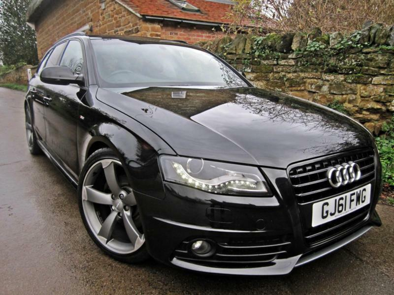 2011 audi a4 2 0 tdi avant s line black edition 170bhp fully loaded in northampton. Black Bedroom Furniture Sets. Home Design Ideas