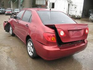 LETS BUY PARTS AT LIBERTY AUTOPARTS -2004 Toyota Corolla!!