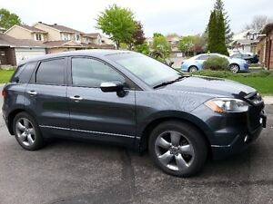 2007 Acura RDX SUV,  including winter tires on alloy rims
