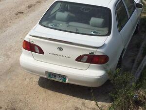 1999 Toyota Carolla VE