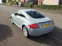 Audi TT Quattro 180bhp Rare Factory Nardo Grey With Leather Aircon