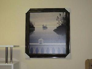 """MORNING CUP"" FRAMED PRINT - EXMOUTH FURNITURE Sarnia Sarnia Area image 1"