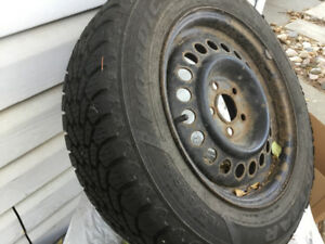 Chrysler Neon Winter Tires and Rims