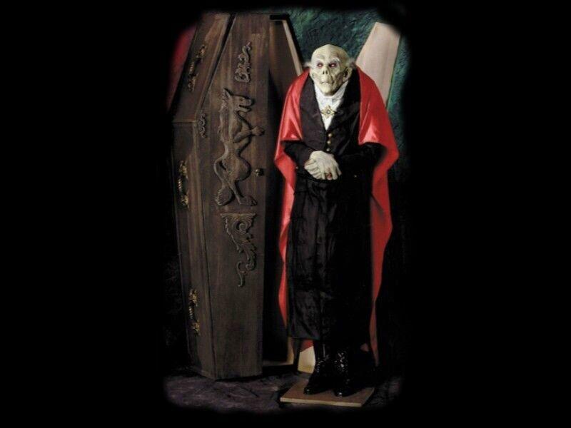 Count Dracula Vampire Zombie Monster Prop Coffin Castle Bram Stoker Halloween