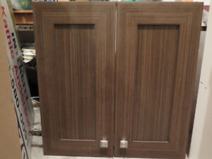 Cabinet for above stove