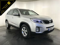 2014 KIA SORENTO KX-2 CRDI 4WD 7 SEATER DIESEL 1 OWNER FROM NEW FINANCE PX