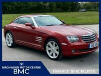2004 Chrysler Crossfire 3.2 V6 2d 215 BHP. SERVICE HISTORY AVAILABLE!!! Coupe Pe