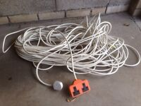 extension lead 50M!! 240V double socket