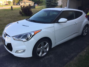 2013 Hyundai Veloster 6 speed Manual