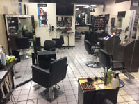 """CHAIR RENTAL""""available. Upscale,professional salon. 1,060sq.ft"""