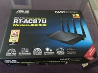 Used Fully Working High Speed Wireless Router - Asus RT-AC87U AC2400