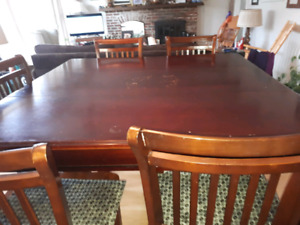 Pub size table  with  5 chairs SOLD
