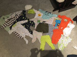 Clothing from newborn to 24 month