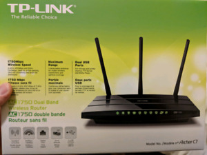 TPLink Archer C7 AC1750 wireless router