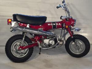 Honda ct70 COMPLETE RESTORATION