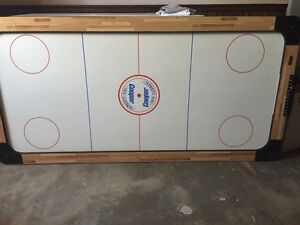Large sized air hockey table