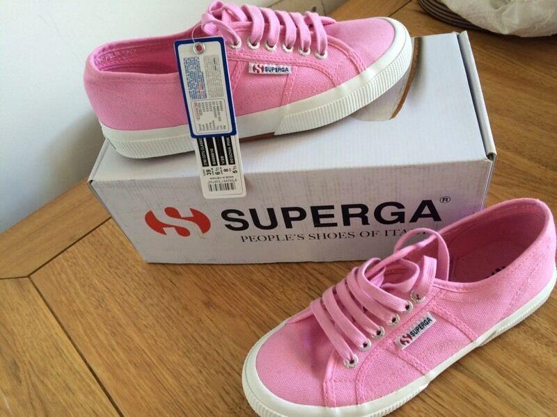 SUPERGA. Trainers. Brand new in box size 39 6  a58ffadffd