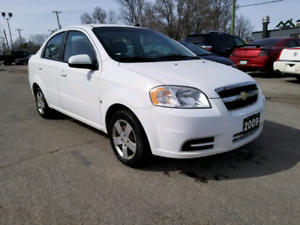 2009 CHEVROLET AVEO LS SAFETY AND E-TESTED