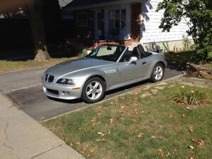 2001 BMW Z3 2.5i 14000$