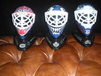 HOCKEY COLLECTIBLES (NHL) GOALIE MASKS