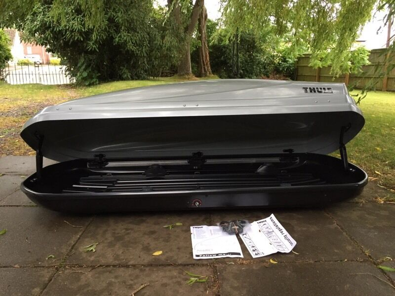 thule atlantis 780 roof box in cullompton devon gumtree. Black Bedroom Furniture Sets. Home Design Ideas