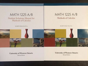 MATH 1225A/B (Methods of Calculus) +Solutions