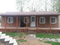 Maison mobile / chalet à vendre et à déménager