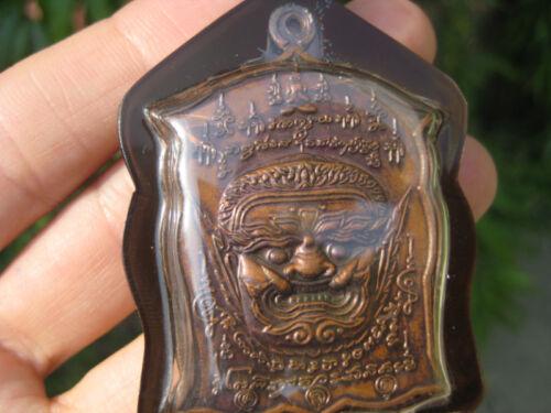 Ganesh Ganesha Por Kae coin Amulet Pendant Thailand jewelry art A3