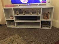 White Corner TV Unit - New