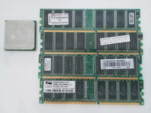 Computer Components RAM and CPU
