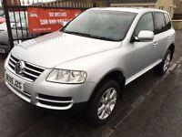 2005 VW TOUAREG TDI SPORT AUTO, 1 YEAR MOT, SERVICE HISTORY, WARRANTY