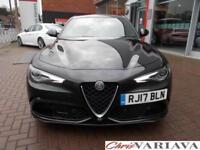 2017 Alfa Romeo Giulia V6 BITURBO QUADRIFOGLIO Petrol black Automatic