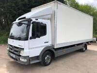 2013 63 Mercedes Atego 816 Bluetech5 20ft box underslung tail-lift