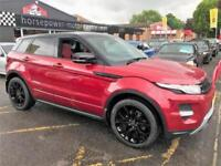 2013 Land Rover Range Rover Evoque 2.0 Si4 Dynamic Lux AWD 5dr Petrol red Automa